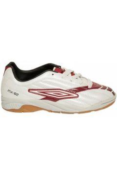 Chaussures enfant Umbro Basket MX82 Blanc/Rouge(115460400)