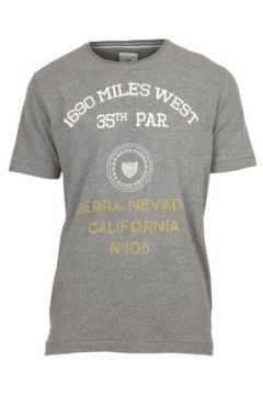 T-shirt Selected T-shirt california H Gris(127855122)
