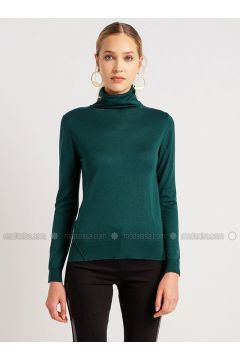 Emerald - Polo neck - Viscose - Acrylic -- Knitwear - NG Style(110341264)