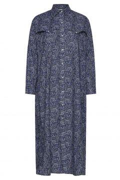 Thora Dress Kleid Knielang Blau NUÉ NOTES(118539591)