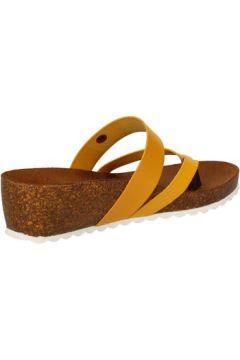 Sandales 5 Pro Ject sandales jaune cuir AC597(115393622)