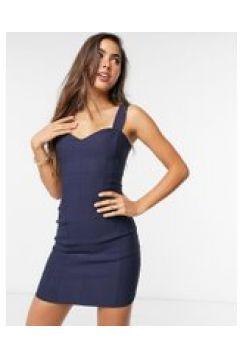 Vesper - Vestito corto a fascia blu navy(122556684)