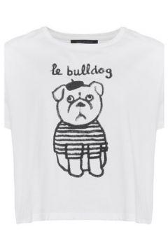 T-shirt French Connection T-shirt imprimé manches courtes(98488076)