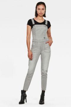 G-Star RAW Women Eyevi Slim Jumpsuit Grey(118171415)