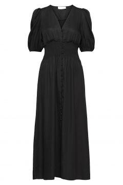 Chloe Puff Dress Maxikleid Partykleid Schwarz STORM & MARIE(116951484)