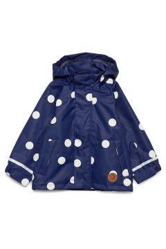 Edelweiss Jacket Outerwear Shell Clothing Shell Jacket Blau MINI RODINI(119481820)