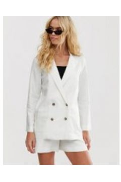 & Other Stories - Blazer in lino bianco(120387653)