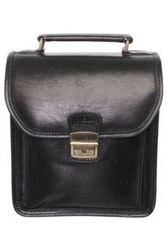 Sacoche Hexagona Sacoche bandoulière en cuir ref_xga33907-noir(115555346)