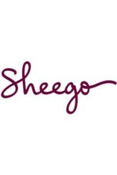 Sheego Shirtjacke Sheego grau meliert(111493692)