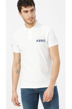 Aeropostale Beyaz Polo T-Shirt(113995310)