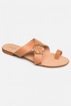 SALE -30 Essentiel Antwerp - Soquite sandals - SALE Clogs & Pantoletten für Damen / braun(111619888)