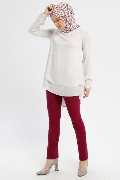 Pantalon Çağrı Giyim Rouge Cerise(108583613)