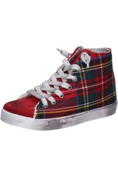 Baskets enfant 2 Stars sneakers rouge textile daim AD885(115393787)