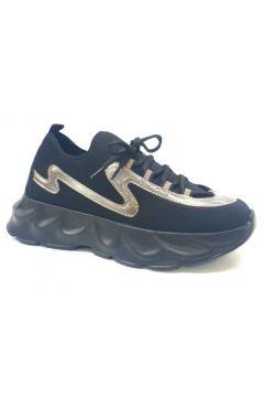 Ventes Kadın Siyah Yüksek Taban Spor Ayakkabı 706700(118291289)