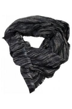 Echarpe Primtex Echarpe longue type châle noir gris(88678749)