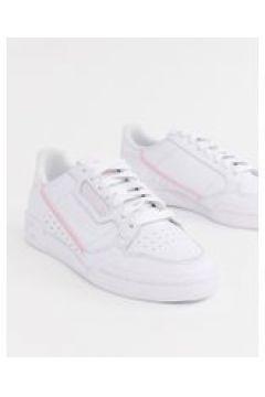 adidas Originals - Continental 80 - Sneaker in Weiß und Rosa - Weiß(92419014)