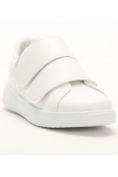 Sportmax Beyaz Bantlı Kadın Sneaker(110968777)