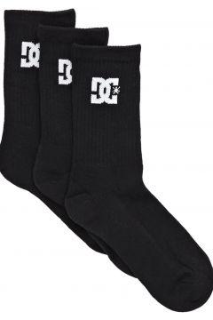 Fashion Socks DC SPP Crew 3 Pack - Black(115690502)