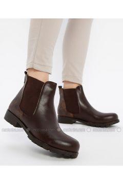 Brown - Boot - Boots - Shamdan(110334583)