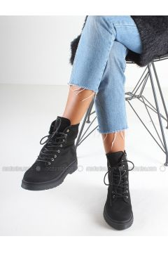 Black - Boot - Boots - İnan Ayakkabı(110316463)
