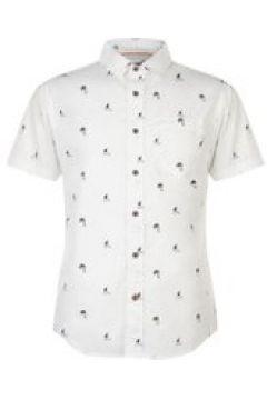 SoulCal Short Sleeve All Over Print Shirt - White AOP(100540015)