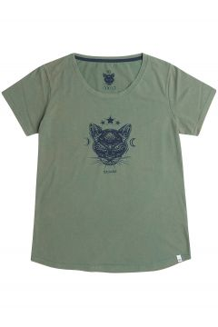 Animal Mirror T-Shirt groen(95395208)