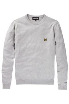 Pull Lyle Scott Pull Lyle and Scott gris col rond pour homme(115387316)