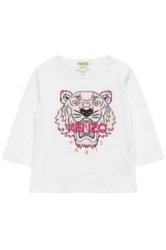 Tiger Bg 5 Langärmliges T-Shirt Weiß KENZO(118370433)