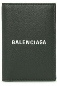 Balenciaga Erkek Everyday Siyah Logolu Deri Pasaportluk EU(114439308)
