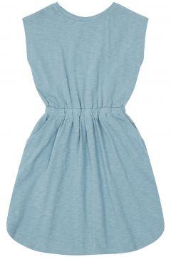 Jersey Kleid aus Bio-Baumwolle Sky(117934683)