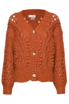 Bossbabe Cardigan Cardigan Strickpullover Orange ODD MOLLY(114155635)