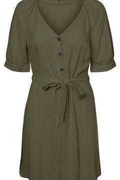 VERO MODA 2/4-ärmel Kleid Damen Grün(111139957)