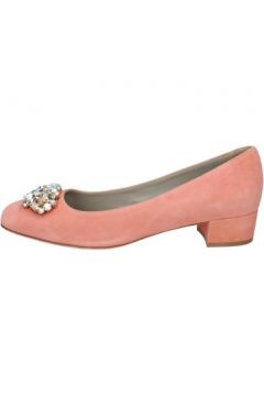Chaussures escarpins Osvaldo Rossi escarpins rose daim ap325(115443183)
