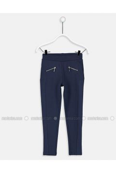 Navy Blue - Legging - LC WAIKIKI(110343354)
