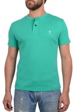T-shirt Katz Outfitter T-shirt homme Button Tee vert - Tee shirt manches courtes(115397654)