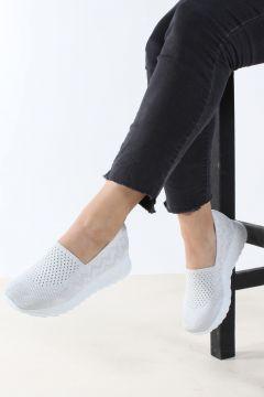 FAST STEP Beyaz Kadın Sneaker(105241874)