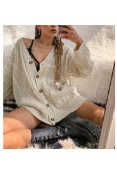 Reclaimed Vintage Inspired - Cardigan a trecce crema(121395323)