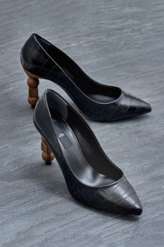 Elle Shoes ABRIL Siyah Kadın Topuklu Ayakkabı(121272883)