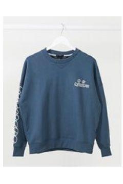 Quiksilver - Felpa squadrata blu navy(122748391)