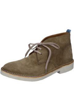 Boots Moma bottines vert daim AB428(115393834)
