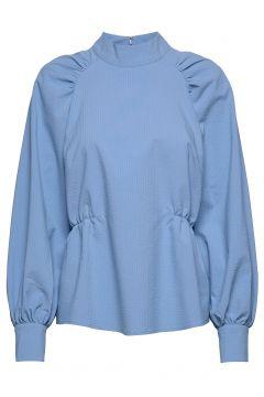 Hekla Blouse Bluse Langärmlig Blau JUST FEMALE(108839076)