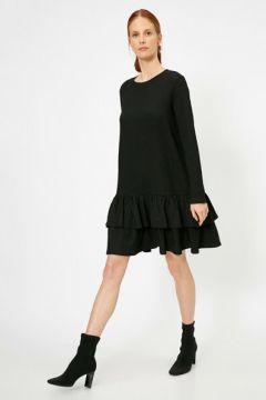 Koton Kadın Firfir Detayli Elbise(106628608)