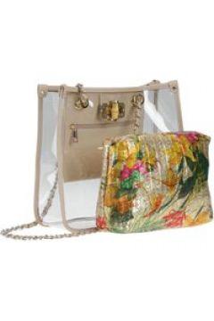 Transparente Tasche Amazonas mit schimmernder Innentasche Collezione Alessandro braun(111503624)