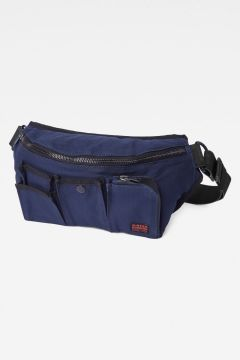 G-Star RAW Men Max Stalt Sport Waistbag Dark blue(118180094)