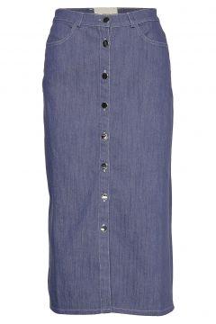 Morrison Knielanges Kleid Blau STIG P(114163258)