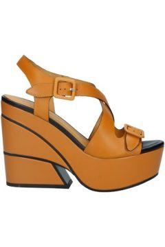 Sandales Elvio Zanon EL3202X chaussures compensées femme SENAPENERO(127951594)
