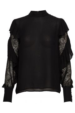 Fell In Love Blouse Bluse Langärmlig Schwarz MARCIANO BY GUESS(114152910)