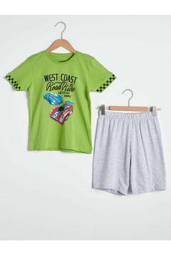 Çocuk Erkek Çocuk Baskılı Pijama Takımı(127690545)