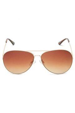 SELECTED Klassische Sonnenbrille Damen Gold(109205615)