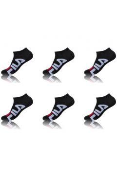 Chaussettes Fila Lot de 6 paires de Tiges courtes homme 9199 Noir(115632460)